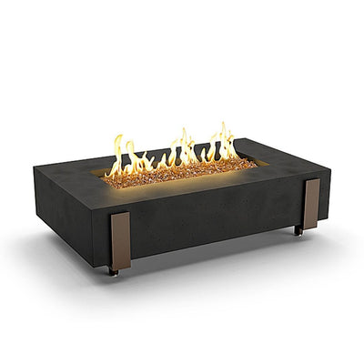 American Fyre Designs 580-BA-11-M7XC Iron Saddle Outdoor Firetable