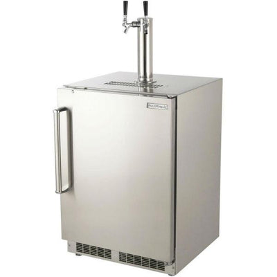 "Fire Magic 24"" Stainless Steel Outdoor Rated Kegerator w/ Metal shelves 3594"