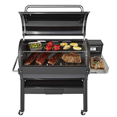 Weber 23510201 SmokeFire EX6 (2nd Gen) Wood Fired Pellet Grill, Black
