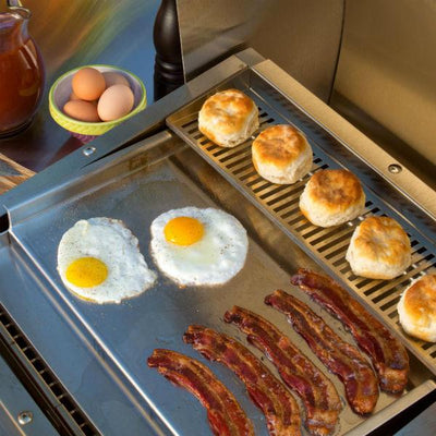 TEC Stainless Steel Commercial Style Flat Top Griddle