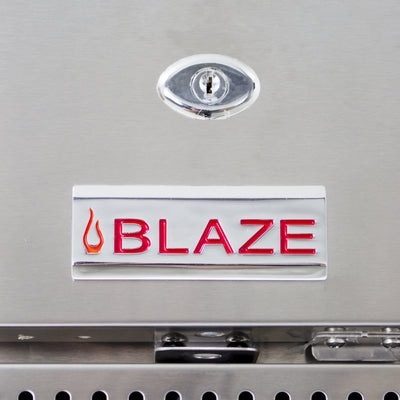 "Blaze 24"" Stainless Steel Outdoor Rated Refrigerator 5.2 CU BLZ-SSRF-50DH"