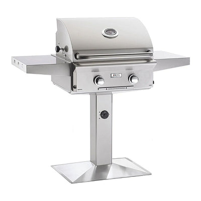"American Outdoor Grill 24NPL Patio Post 24"" 2 Burner Gas Grill"