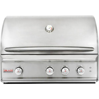 "Blaze Professional 34"" 3 Burner Built-In Gas Grill With Rear Infrared Burner BLZ-3PRO"