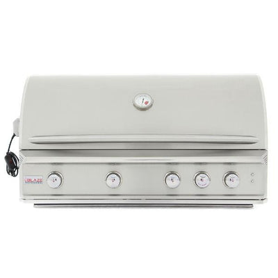 "Blaze Professional 44"" 4 Burner Built-In Gas Grill With Rear Infrared Burner BLZ-4PRO"