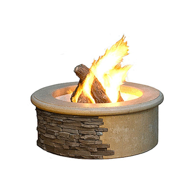 American Fyre Designs 685-F6 Contractor's Model Round Fire Pit