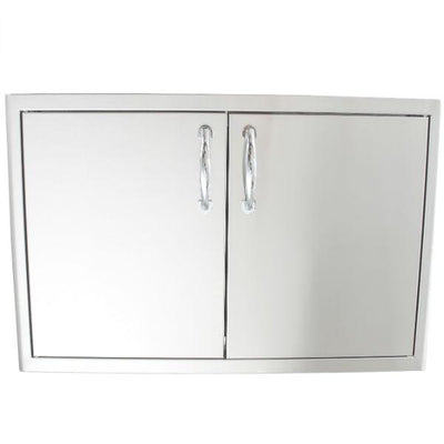"Blaze 21"" Stainless Steel Enclosed Dry Storage Cabinet with Shelf BLZ-DRY-STG"