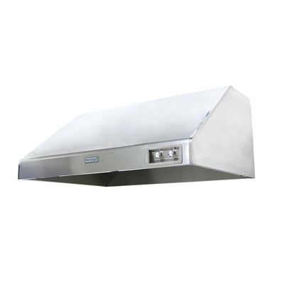 "Fire Magic 1200 CFM 60"" Stainless Steel Outdoor Vent Hood w/ Fan"