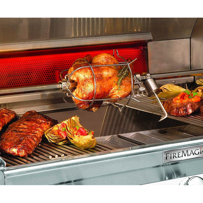 Fire Magic Echelon Diamond E660s Freestanding Gas Grill Double Side Burner