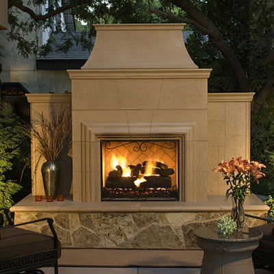 AFD 182-35-X-XX-XXC Grand Cordova Vent-Free Outdoor Fireplace