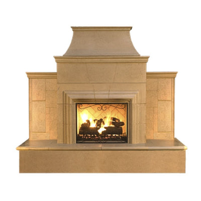 American Fyre Designs 882-35-x-xx-xxC Grand Cordova Vented Fireplace