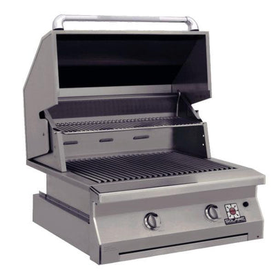 "Solaire SOL-AGBQ-30IR 30"" Stainless Steel Built-In Infrared Gas Grill w/Rotisserie"