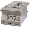 "Solaire SOL-IRSB-14 13"" Stainless Steel Built-In Double Side Burner"
