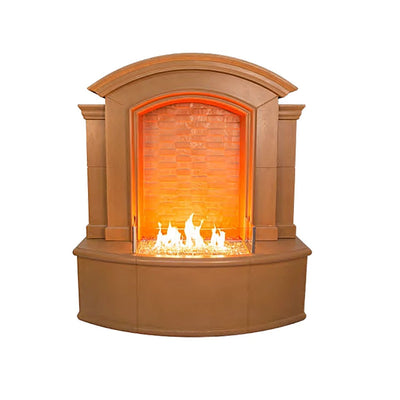American Fyre Designs 695-M5 Large Firefall with Night Fyre Lighting