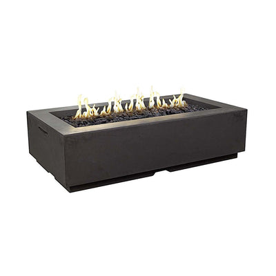 "American Fyre Designs 689-M8 Louvre 56"" Rectangle Fire Pit"