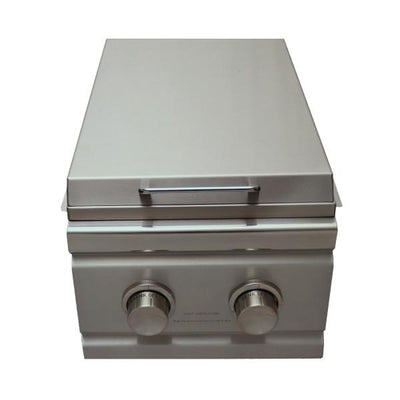"RCS Grill Cutlass RDB1 13"" Stainless Steel Double Side Slide-In Burner"