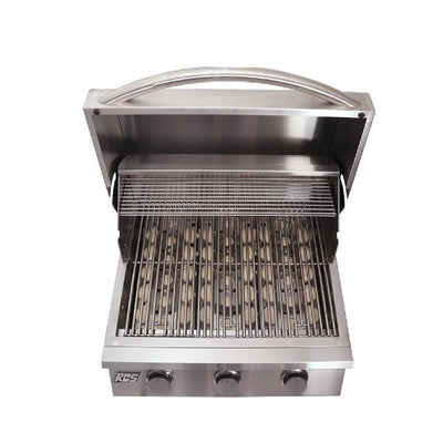 "RCS Grill RJC26A 26"" Stainless Steel Premier Series Drop-In Gas Grill"