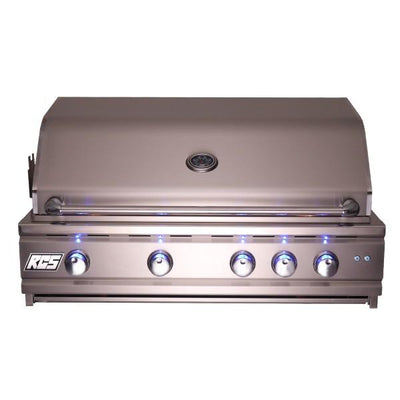 "RCS Grill Cutlass Pro RON38A 38"" Stainless Steel Built-In Gas Grill with Blue LED Light"