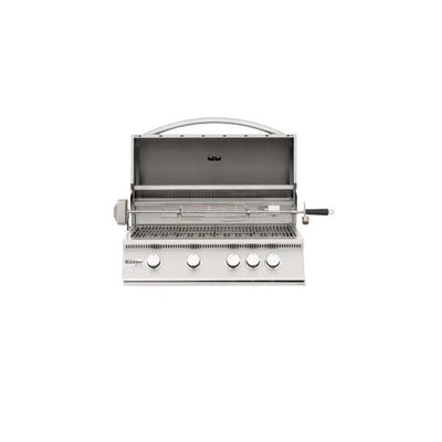 "Summerset Sizzler SIZ32 32"" 4-Burner Built-In Gas Grill w/ Infrared Burner"