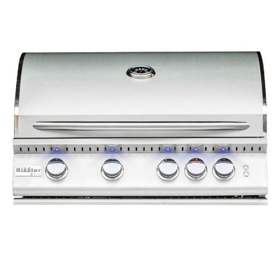 "Summerset Sizzler Pro SIZPRO32 32"" Stainless Steel 4 Burner Built-in Gas Grill"