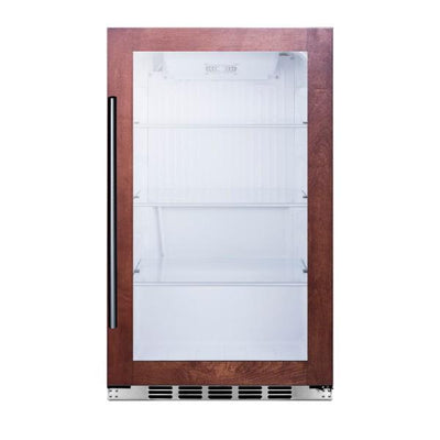 "Summit SPR489OSCSSPNR 19"" Glass 3.13 cu.ft. Indoor/Outdoor Beverage Cooler"