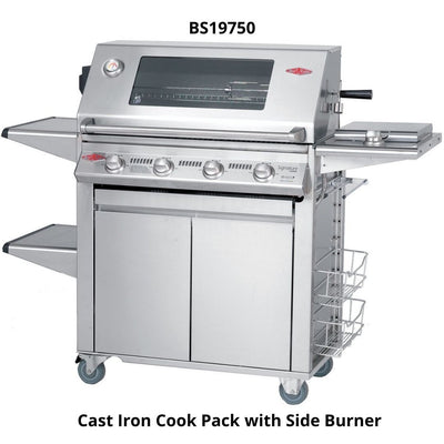 Beef Eater BS19750 Signature Plus 3000S Series 4 Burner Mobile BBQ