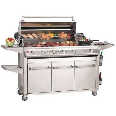 Beef Eater BS30050 Signature Series SL4000 4 Burner Mobile BBQ