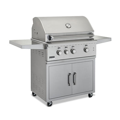 "Broilmaster BSACT34 34"" Stainless Steel Cart for Stainless Grills"