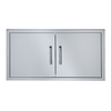 "Broilmaster BSAD4222 42"" Built-in Stainless Steel Double Door"