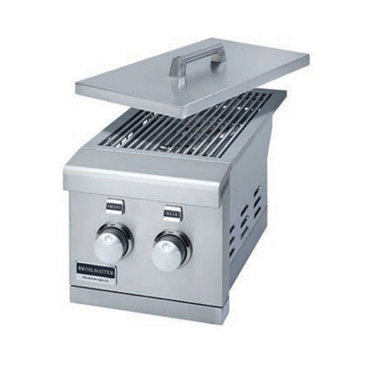 "Broilmaster BSABF12 12"" Slide-in Double Side Burner"