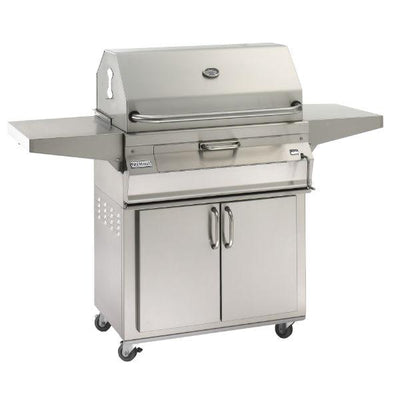 Fire Magic 24″ Stainless Steel Freestanding Charcoal Grill w/ Warming Rack 22-SC01C-61