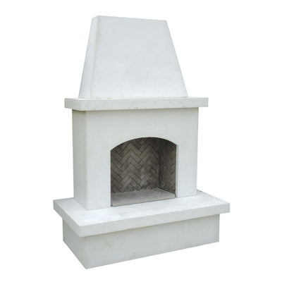 AFD 040-11-A-WC-RBC Contractor's Model White Vented Fireplace