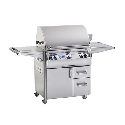 Fire Magic Echelon Diamond E660s Freestanding Gas Grill Side Burner