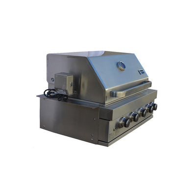 Mont Alpi 32 Inch Built In Gas Grill MABI400