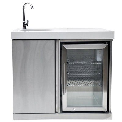 Mont Alpi Sink and Fridge Module for Islands