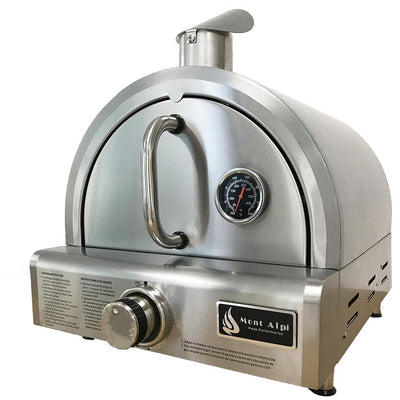 Mont Alpi Portable Table Top Gas Pizza Oven MAPZ