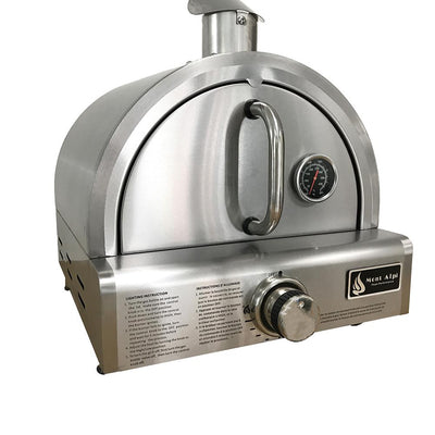 Mont Alpi Portable Table Top Pizza Oven MAPZ left hand view