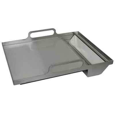 "RCS Grill RSSG4 Le Griddle Style 19"" Stainless Dual Plate Griddle"