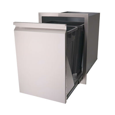RCS Grill VTD2 Valiant Series Double Trash and Recycle Drawer