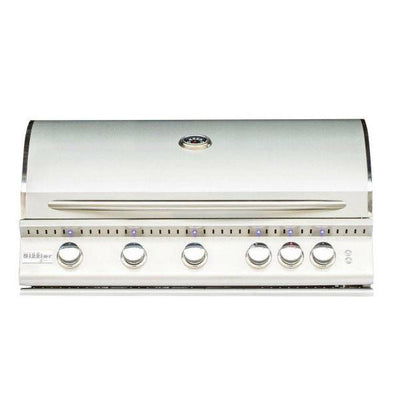 "Summerset Sizzler Pro SIZPRO40 40"" Stainless Steel 5-Burner Built-In Gas Grill"