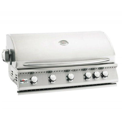 "Summerset Sizzler 40"" Stainless Steel Built-In Gas Grill"