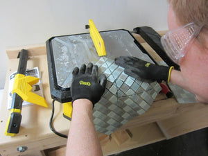 How to: Properly Cut Glass Mosaic Tile