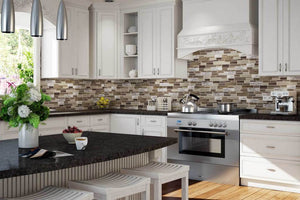 How to use Mosaic Metal or Metallic Tiles in your Project
