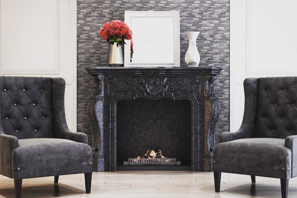 How to Tile Your Fireplace - Styling Your Fireplace
