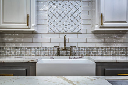 White Porcelain Tile & White Marble Tile