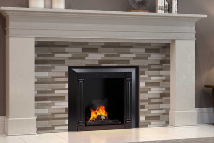 Interior Fireplaces Mosaic Tile Outlet Collection