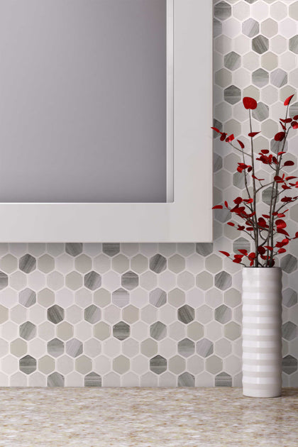 Hex Mosaic Tile