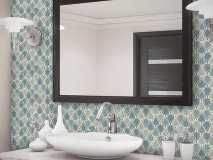 Tear Drop Mosaic Tile Outlet Collection