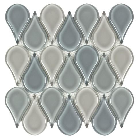 Pool - Tear Drop Mosaic Tile Outlet Collection