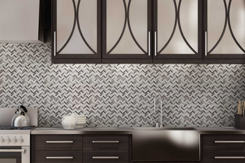 Glass and Metal Mosaic Tile Outlet Collection