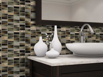 Glass and Stone Mosaic Tile Outlet Collection